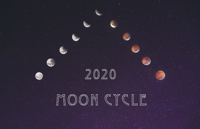 2020年の満月・新月の日